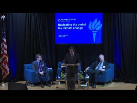 NYU/KPMG Annual Lecture (2016): Part 1