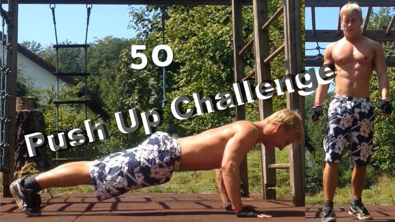 50 Push Up Challenge - Calisthenics | Street Workout