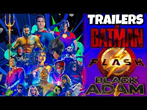 DC Fandome (2021) Line Up Revealed (Batman Trailer 2, The Flash Teaser, & MORE)