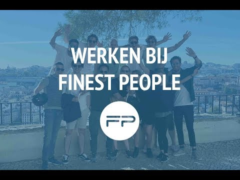 Werken bij Finest People Amsterdam | Recruitment Consultant | Digital Marketing | Digital Sales