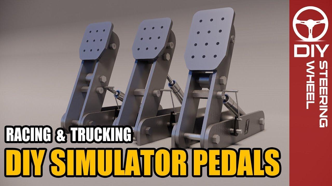 DIY Pedals - Simulator Rig - Racing & Trucking