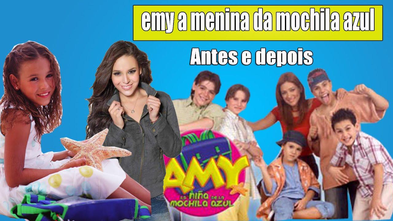 Amy A Mochila Azul antes e depois de amy a menina da mochila azul