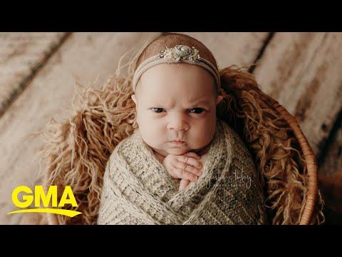 Sheri Van Dyke - Meme-able Mean Mug Baby Luna!