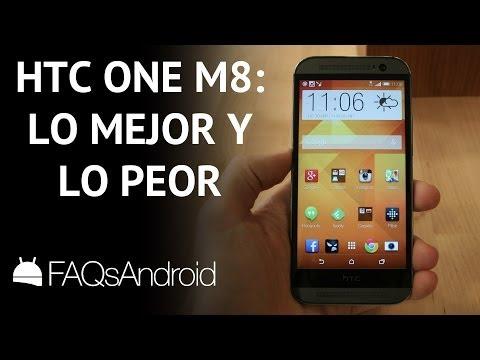 HTC One M8: Lo mejor y lo peor | FAQsAndroid.com