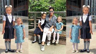 Бородина с Теоной забрали Марусю из школы и поехали в зоопарк