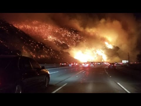 """Prophecy Alert: """"Highway To Hell"""" Apocalypse Comes To California"""