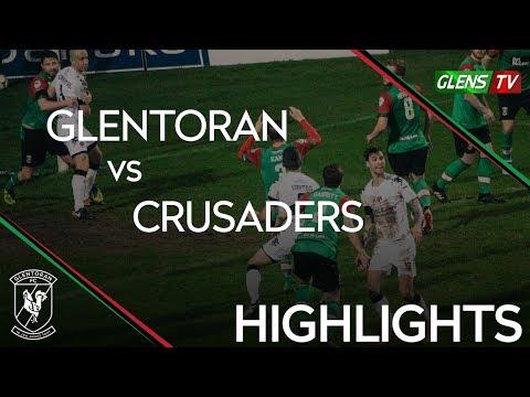Glentoran vs Crusaders - 1st December 2018