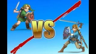 Link VS Young Link