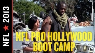 Gerald McCoy at the 2013 NFL Hollywood Boot Camp