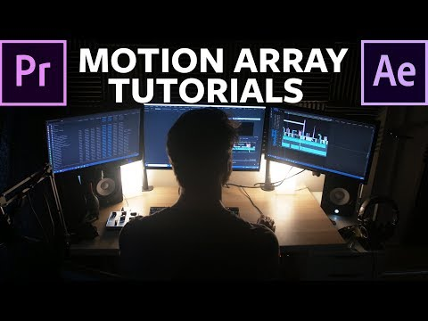 Premiere Pro and After Effects Tutorials for Video Editors - Motion Array Tutorials