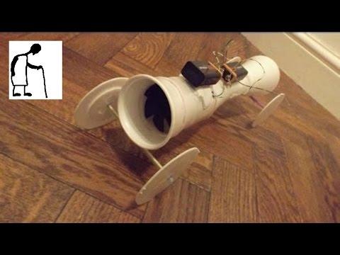 Bargain Store Project #35 Styrofoam Cups Jet Fan Car