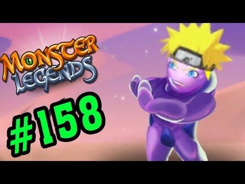 Monster Legends Game Mobiles - Naruto Sử Dụng Phân Thân Chi Thuật - Thế Giới Quái Vật #158