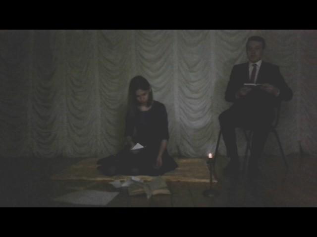 Изображение предпросмотра прочтения – ИльшатХафизов читает произведение «Она сидела наполу…» Ф.И.Тютчева
