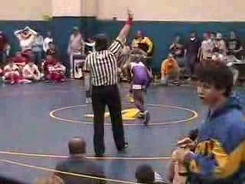Corey Jantzen Wrestling Match