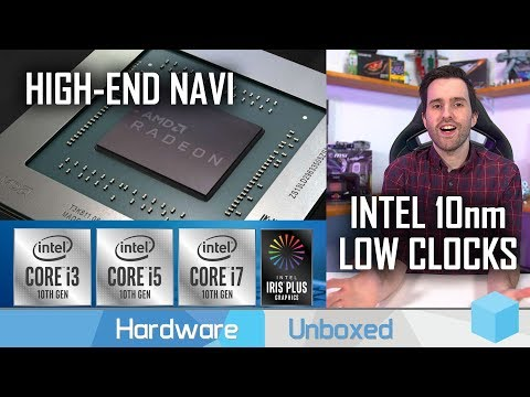 News Corner | High-End Navi, Intel 10nm Processor SKUs, Ryzen 3000 Driver Changes