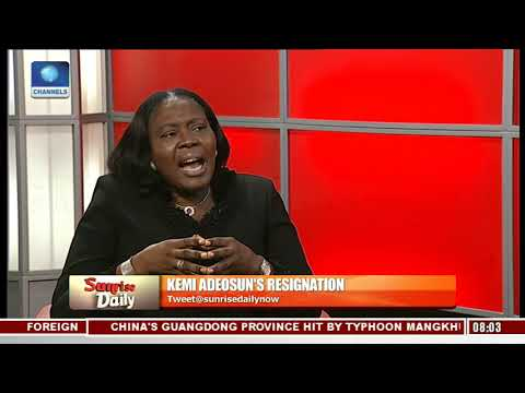 Adeosun's Resignation: 'It Was A Genuine Error' Marcus Bello Highlights Lessons Learnt Pt.3