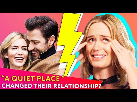Emily Blunt And John Krasinski: From Love At First Sight To A Quiet Place | ⭐OSSA