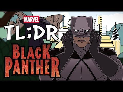 Thumbnail: Who is the Black Panther? in 2 Minutes - Marvel TL;DR