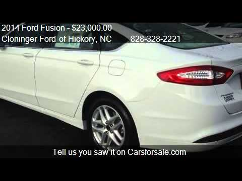 2014 Ford Fusion SE - for sale in Hickory, NC 28602