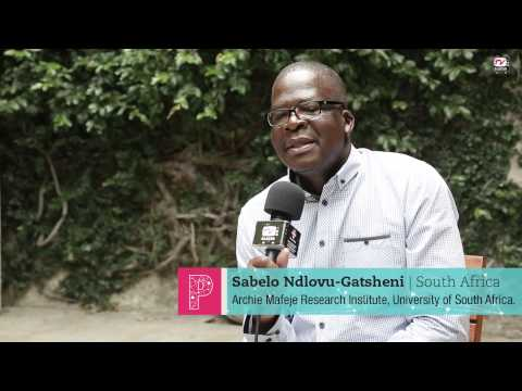 """Sabelo Ndlovu: """"We´re Trying To Invent A Future Beyond Euro-North American-centric Modernity"""""""