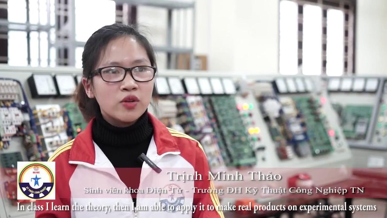 Đại học Kỹ thuật Công nghiệp – Đại học Thái Nguyên có gì đặc biệt mà đông sinh viên vậy?