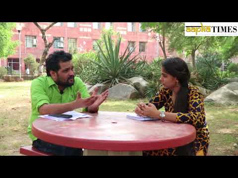 In conversation with Dileep Yadav, A JNU research scholar