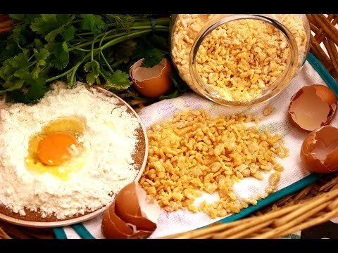 Domaća tarana za supe i čorbe - Šerpicina škola kuvanja