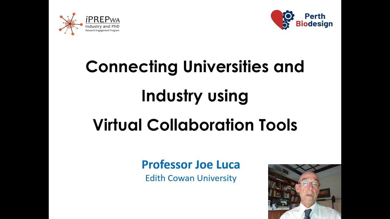 BSRU Conference Listens to Keynote Speaker Professor Joe Luca Present on the iPREP Program