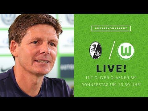 LIVE 🔴 Pressekonferenz mit Oliver Glasner vor SC Freiburg - VfL Wolfsburg | Bundesliga