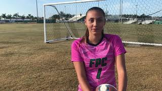 FPC's Gabby Calidonio named Girls Soccer Player of the Year