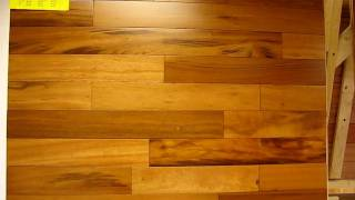 Tigerwood exotic hardwood flooring at Uncle Hilde's in tax-free New Hampshire, Brazilian koa