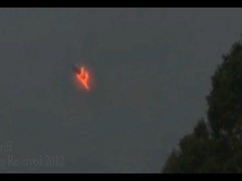 UFO Sightings Strange and Extremely Weird Weather Phenomenon or UFO! Aug 14 2012