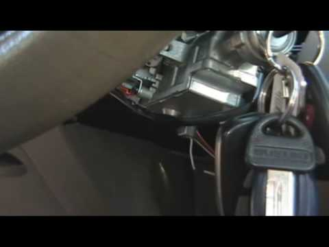 Cutting White Wire on Saturn Ion to Fix Starting Issue - YouTube