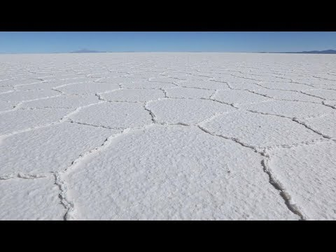 More than just a tourist destination: Bolivia's salt flats a