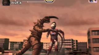 Ultraman Fighting Evolution 3 Ultraman Jack vs Twin Tail and Gudon A Rank
