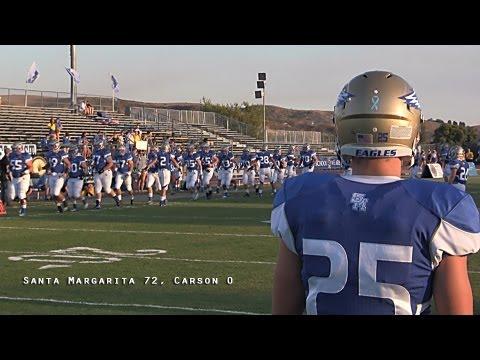 Santa Margarita 72, Carson 0