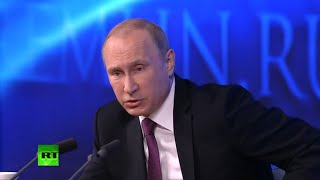 Putin on Ukraine: Kiev is running punitive military operation, not Russia