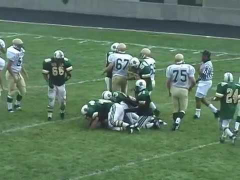 2000 High School Football ~ Lane Tech vs. St. Patrick Part 1/2