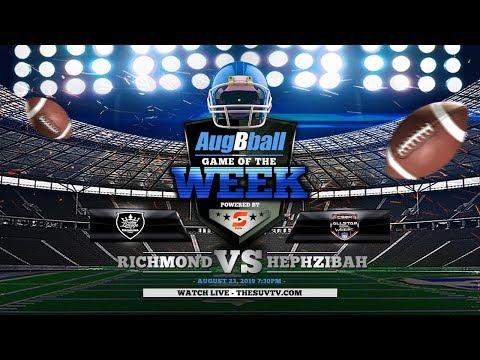 AugBball Game of the Week powered by SUVtv: ARC vs. Hephzibah High School (Varsity Football)