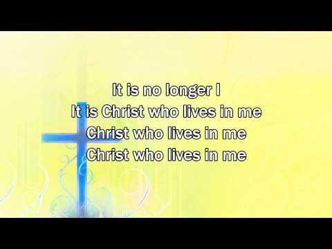 No Longer I - Matt Redman (2015 New Worship Song with Lyrics)