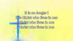 No Longer I - Matt Redman (2015 New Worship Song with Lyrics)