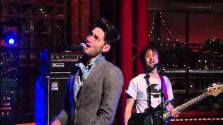 WU LYF - HEAVY POP @ Letterman Show 05/01/12
