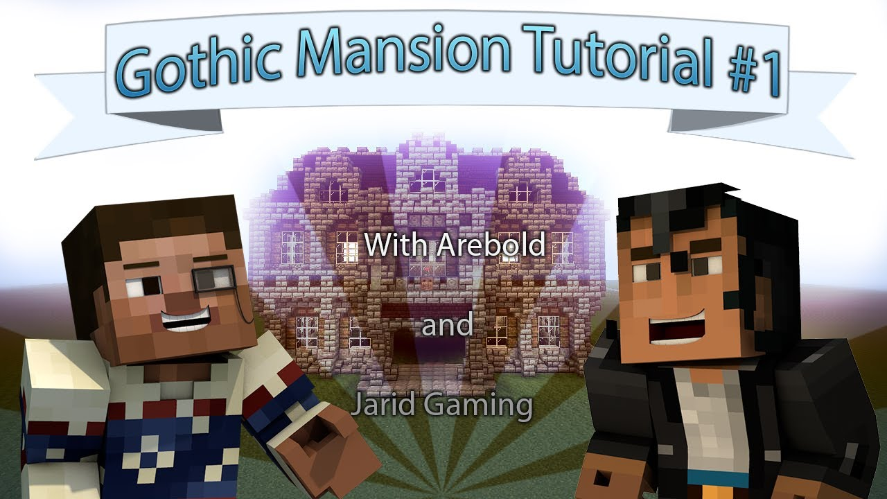 How to Build a Gothic Mansion in Minecraft Part 1 YouTube