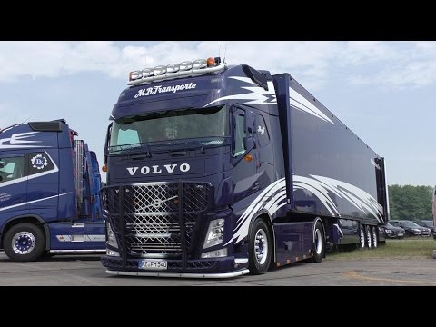 Truckfestival WOLFSMEILE 2015 - Awesome trucks / interiors ! [HD]
