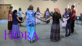 Rejoice in Dance - Teaching video for &quotHora&quot dance