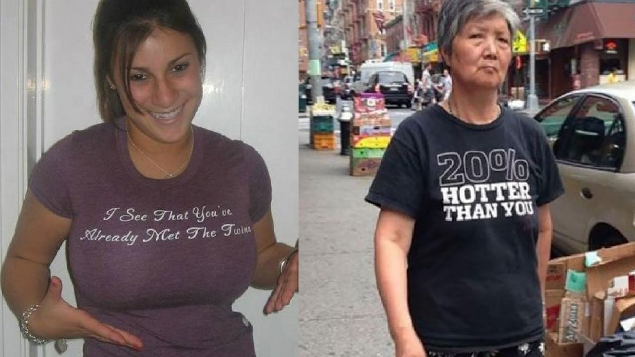 Most Clever And Sexiest Message On T-Shirt - YouTube