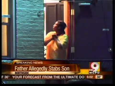 Father Stabs Son