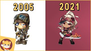 The Evolution of MapleStory | 2005 - 2021