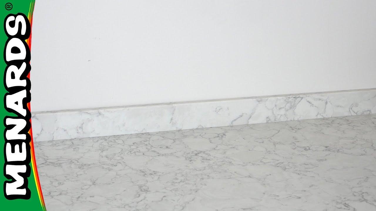 installing a backsplash on quartz countertop menards