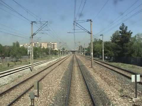 REAR VIEW FOOTAGE: Sincan-Ankara Central Station